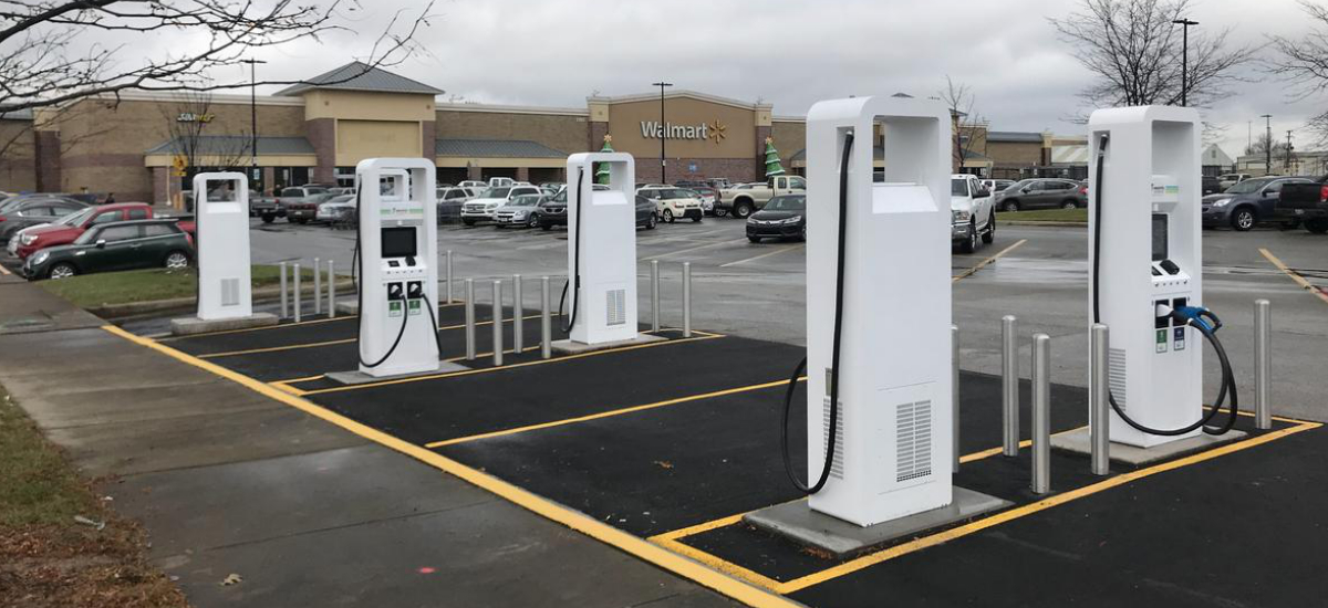 NowCar VW General Motors EV Charging Stations