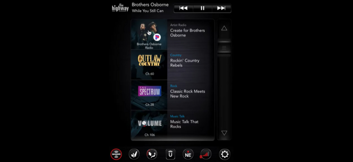 NowCar Ram 1500 SiriusXM Pandora Personalized Stations