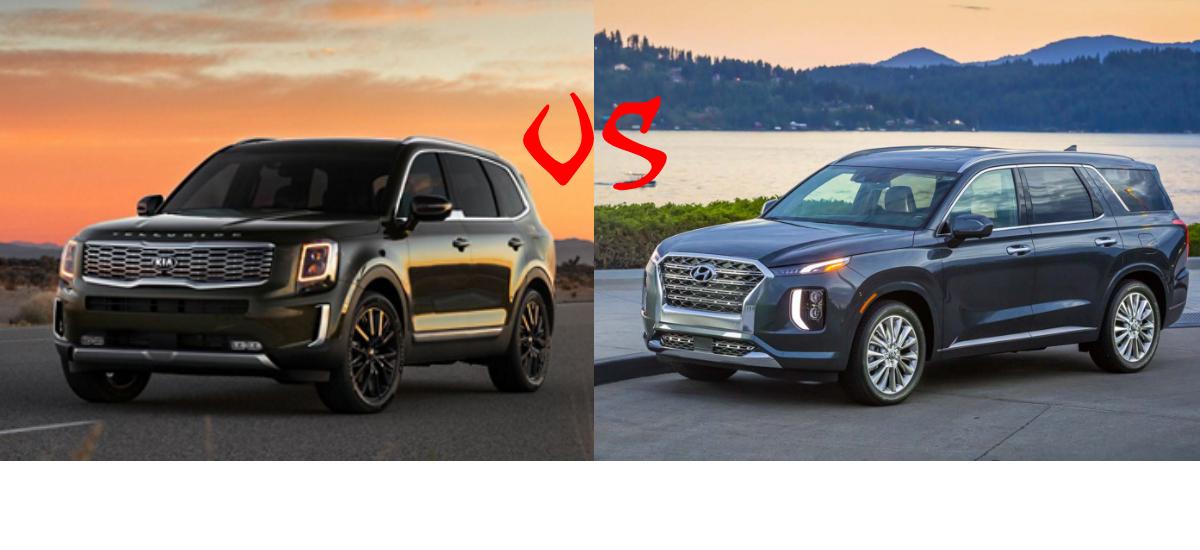 NowCar Comparison 2020 Kia Telluride 2020 Hyundai Palisade