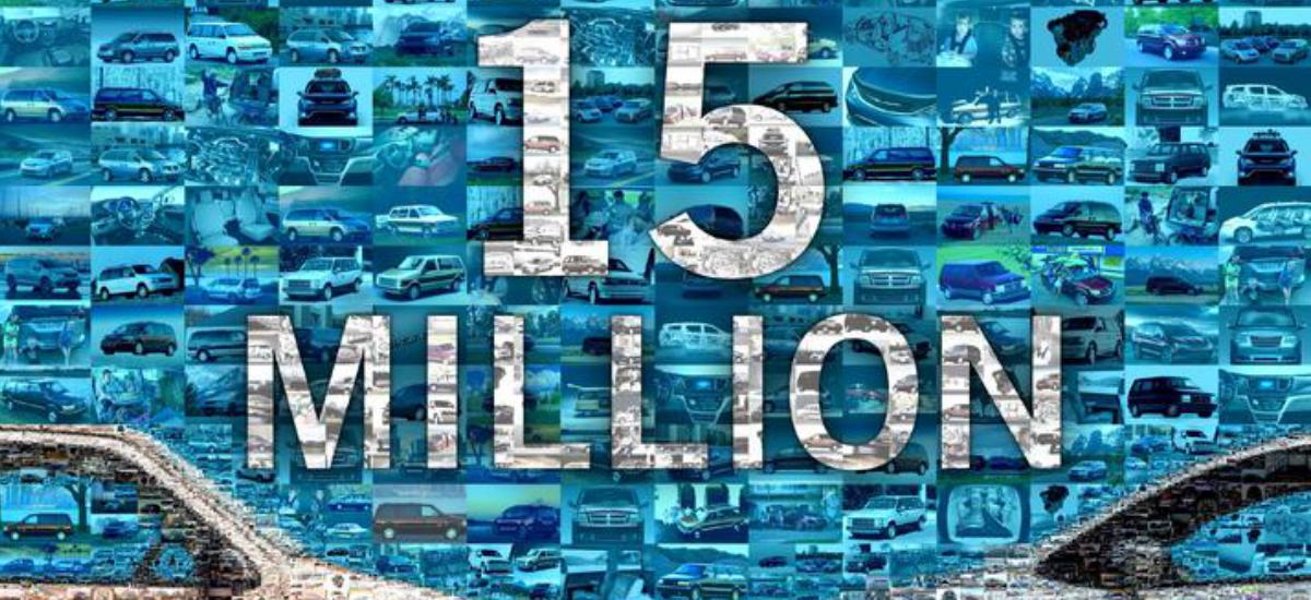 NowCar FCA 15 Millionth Minivan