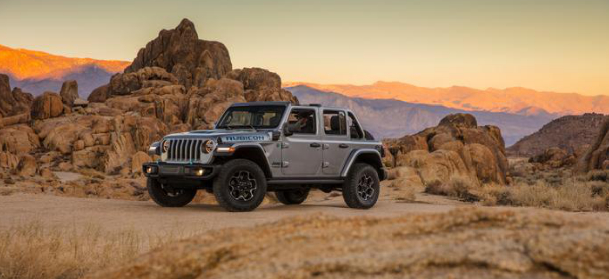 NowCar Jeep Wrangler 4xe Global