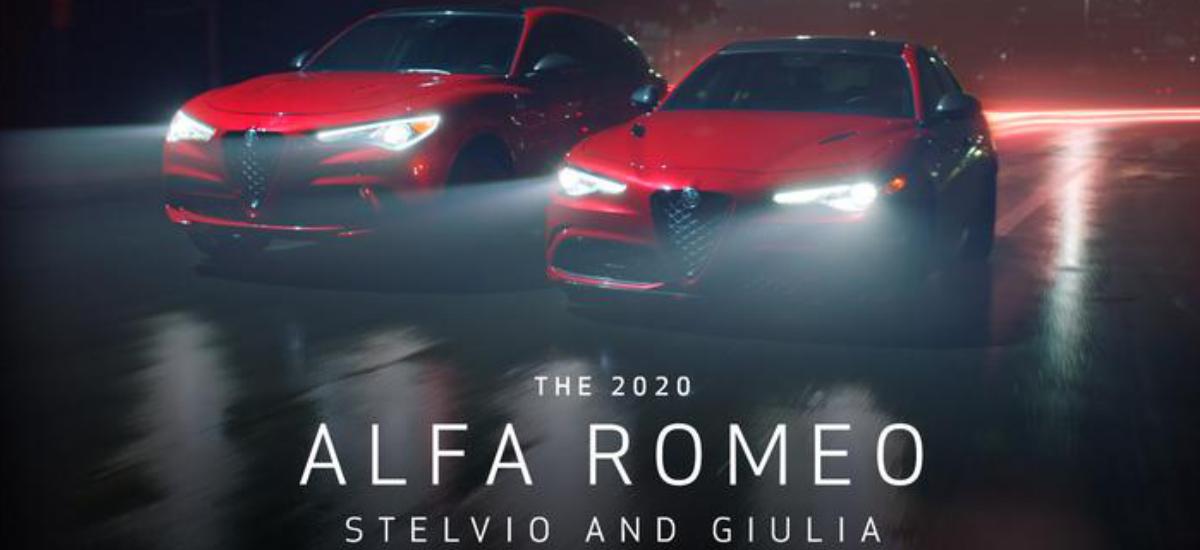 NowCar Alfa Romeo Giulia and Stelvio 2020