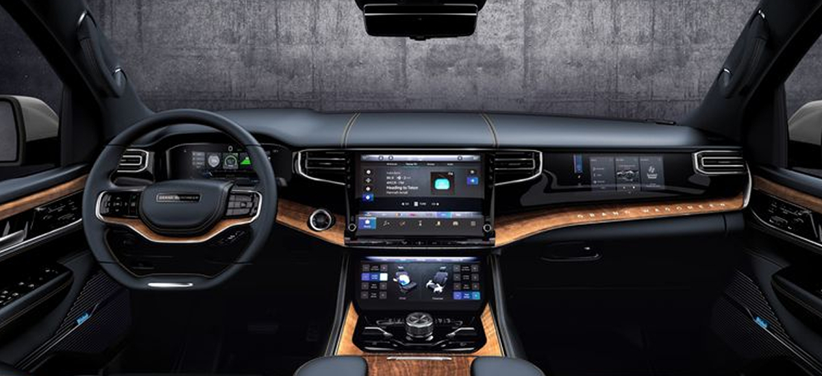 NowCar 2022 Jeep Wagoneer Grand Wagoneer Reveal Interior