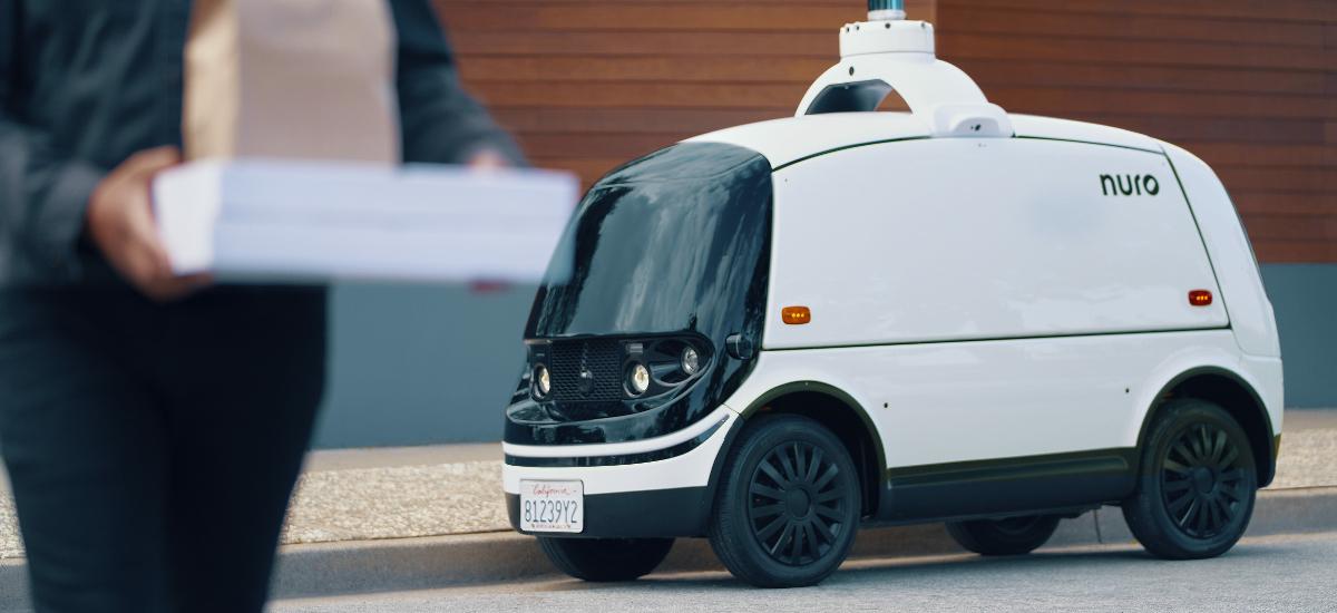 NowCar Dominos Delivery Nuro R2