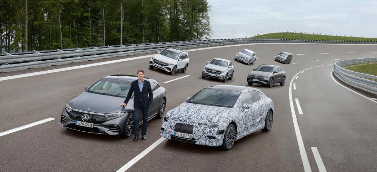 NowCar Mercedes-Benz Electric Vehicle EQE